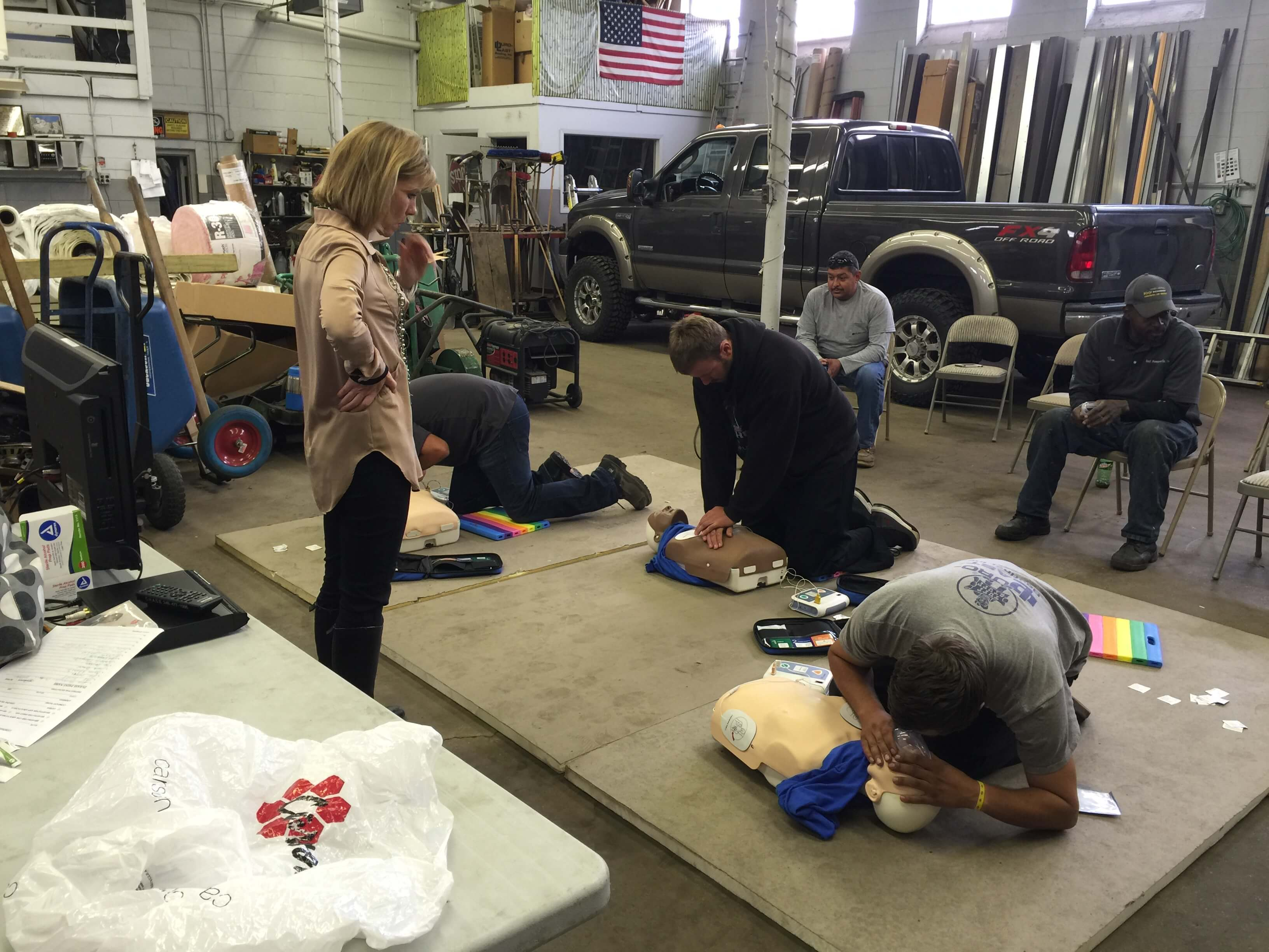 ROOF Management CPR Training