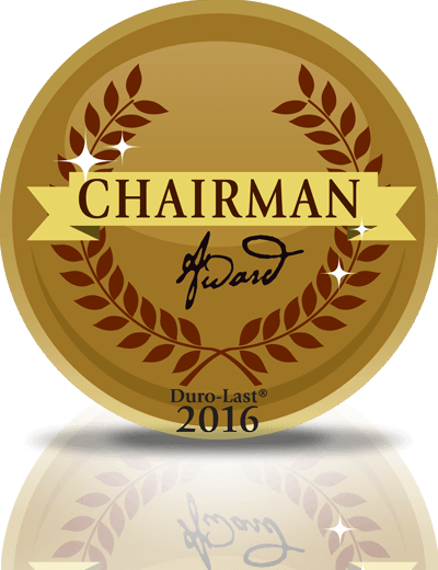 2015 Duro-Last Roofing Chairman Award