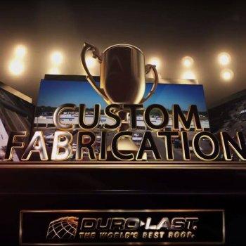2016 Duro-Last Custom Fabrication award